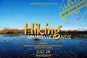 HIKING in Ammiq Wetland (West Bekaa) with LEBANON OUTDOOR ACTIVITIES