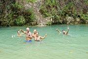 JANNET CHOUWEN Hike & Swim with DALE CORAZON