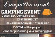 Escape the Usual (Camping Event)