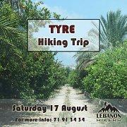 Tyre Hiking Trip