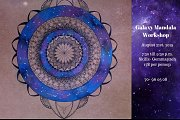 Galaxy Mandala Drawing Workshop