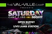 Unforgettable Night by the Fire at the Val-Ville Camp Mrouj!