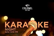 Karaoke Night at Colonel