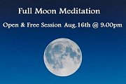 Full Moon Meditation Session