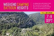 Camping in Batroun Heights with Tourleb