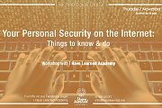 Your Personal Security on the Internet - Workshop at I Have Learned Academy