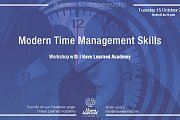 Modern Time Management Skills Workshop - I Have Learned Academy