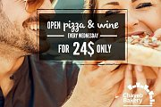 Open Wood-fired Pizza & Wine Night at ChayebBakery Kfarhbab - Every Wednesday