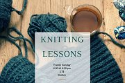 Knitting Lessons for Beginners
