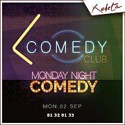 Monday Night Comedy at Kudeta