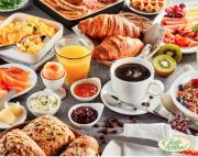 Breakfast Buffet at Le Jardin Du Royal