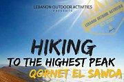 HIKING to the Highest Peak Qornet Al Sawda with LEBANON OUTDOOR ACTIVITIES