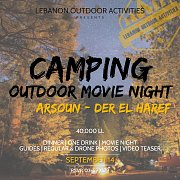 *Camping & Movie Night in Arsoun with LEBANON OUTDOOR ACTIVITIES*
