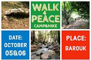 Walk4Peace - Lebanon Camp & Hike at Barouk