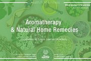 Aromatherapy & Natural Home Remedies - Workshop at I Have Learned Academy