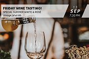 Wine Tasting - White and Rosé Selection