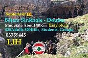 Hiking Batara Sinkhole - Douma with Lebanese International Hikes