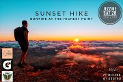 Sunset Hike, Bonfire at the Highest Point with Jezzine Extreme Adventures