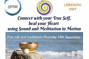 Free Talk and Meditation with Internationally Renowned Healer and Writer Maan Kantar