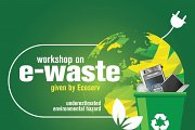 E-Waste Workshop given by Ecoserv at CrossTalk NGO