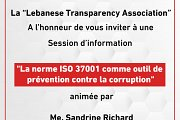 Session d'information : La Norme ISO 37001