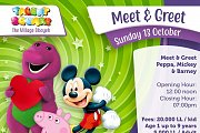 Meet Barney, Mickey & Peppa Pig