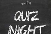 Quiz Night At Yardbird Ghazir