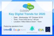 "Clouds Talks ""Key Digital Trends for 2020"""