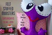 Felt Stuffed Monsters at Alwan Salma