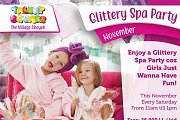 Glittery Spa Party