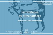 Self-Defense for Street Attacks - Workshop at I Have Learned Academy