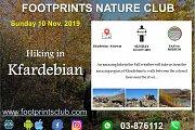 Footprints Hiking in Kfardebian