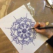 Mandala Drawing at Alwan Salma