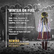 WINTER ON FIRE Screening at Azarieh Parking