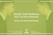 Verbal Self-Defense Workshop at I Have Learned Academy