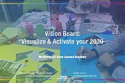 Vision Board: Visualize & Activate your 2020 Workshop at I Have Learned Academy