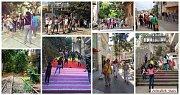 Achrafieh Stairs Independence 2019 Walking Tour