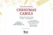 Traditional Christmas Carols at Assembly Hall-AUB