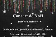 Concert de Noël du Barock-Ensemble