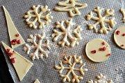 Chocolate Snowflakes at Alwan Salma
