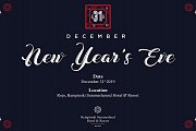 New Year's Eve at  ROJO in Kempinski Summerland Hotel & Resort