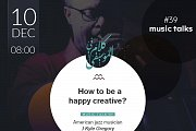 Music Talk #39 - How To be a Happy Creative?