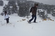 Snow Shoeing at Arz Hadath el Jebbe with DALE CORAZON