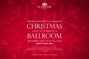 Christmas Lunch at Le Bristol's Ballroom