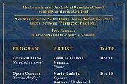 Les Musicales de Notre Dame 2019 - Full Program