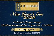New Year's Eve 2020 at B by Elefteriades
