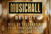 NYE 2020 at Music Hall Beirut