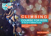 Climbing Course for Kids at GO UP Climbing Club