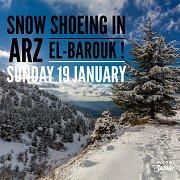 Snow Shoeing Arz El-Barouk with Wanderlust Lebanon