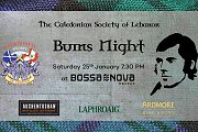 Burns Night 2020 at Bossa Nova Beirut - Scottish Event